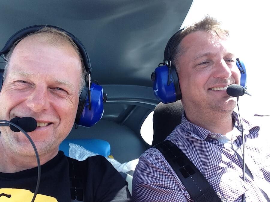 UL selbst fliegen - Piloten-Ausbildung