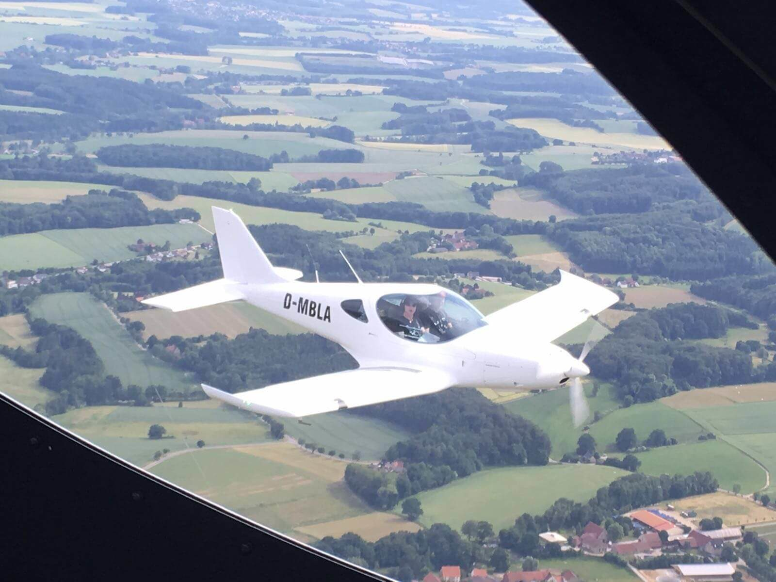 Rundflug über das Emsland und Ostfriesland