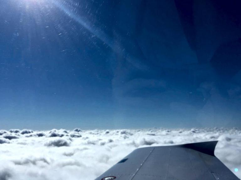 Inseltransfer - über den Wolken zur Insel